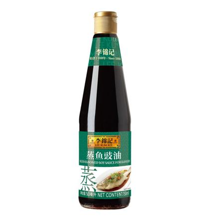 李錦記 醬油 蒸魚豉油 清蒸海鮮醬油 410ml