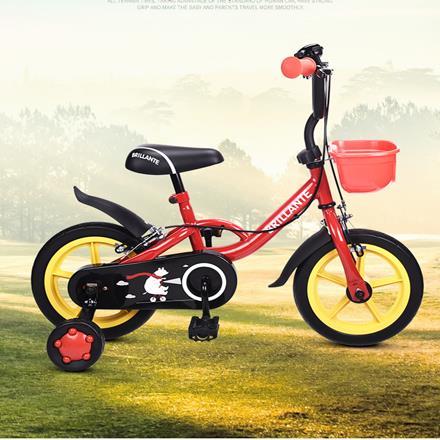 贝立安-儿童运动型自行车童车男女2-4岁宝宝山地车小孩单车 12寸
