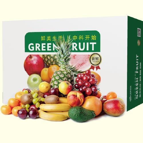 中科鮮精選水果禮盒(14種)約7kg