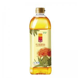 中糧悅潤紅花籽油1L