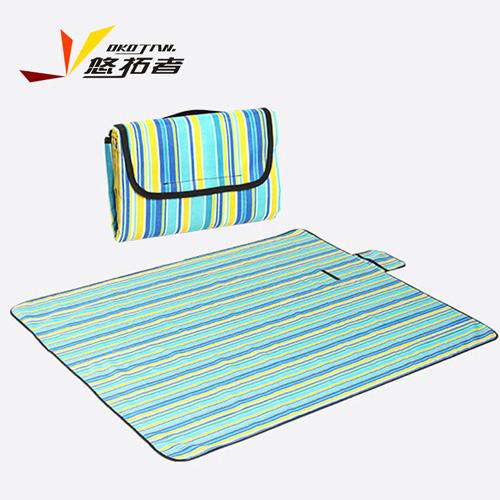 悠拓者 野餐垫户外  牛津布防潮垫 加厚帐篷垫子 沙滩垫 大尺寸草坪垫双面可用150*180cm