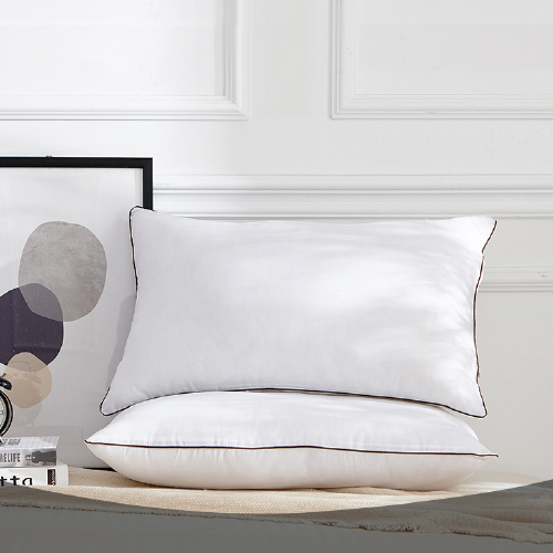 梦洁 酒店枕头一对套装成人单人羽丝绒 MEE胶原蛋白美肤枕--对枕48*74*26cm*2