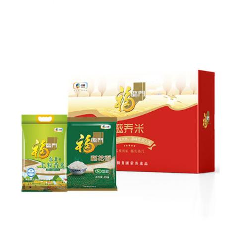 中粮福临门滋养米礼盒4.5kg