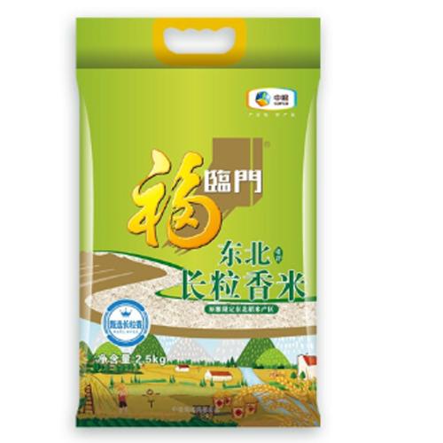 中粮福临门唯粹东北长粒香米2.5kg