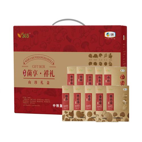 中粮唯粹菌享祥礼菌菇礼盒980g