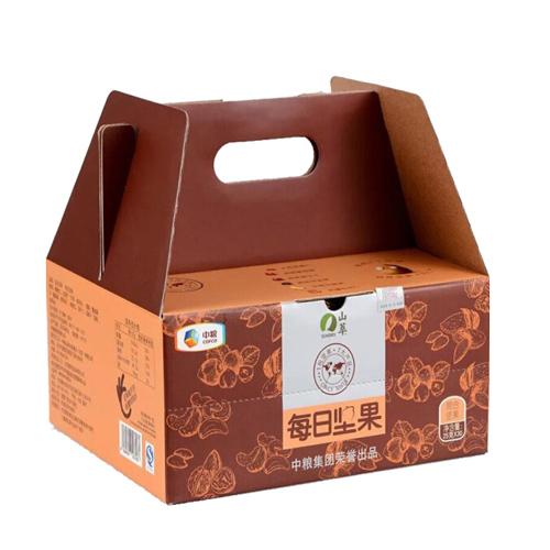 中粮山萃坚果礼盒每日坚果750g春节员工福利