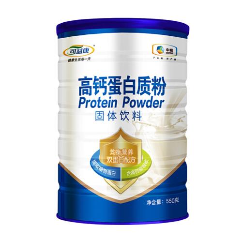 中粮可益康 高钙蛋白粉蛋白质粉成年中老年男女营养品(净含量:550g))