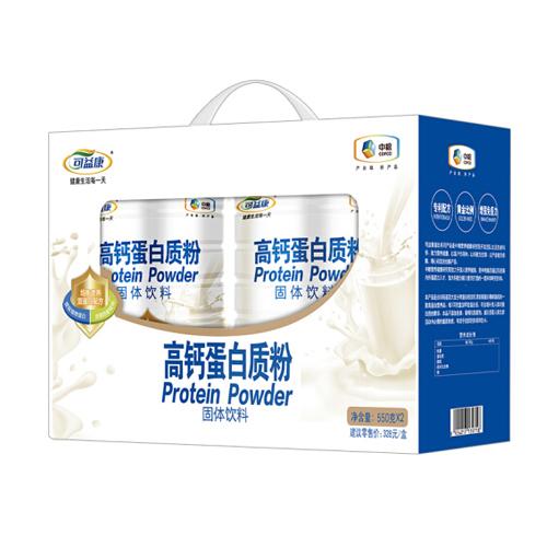 中粮可益康 高钙蛋白粉蛋白质粉礼盒成年中老年健康营养品(净含量1.1kg)
