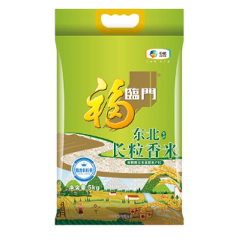 中粮福临门唯粹东北长粒香米5kg
