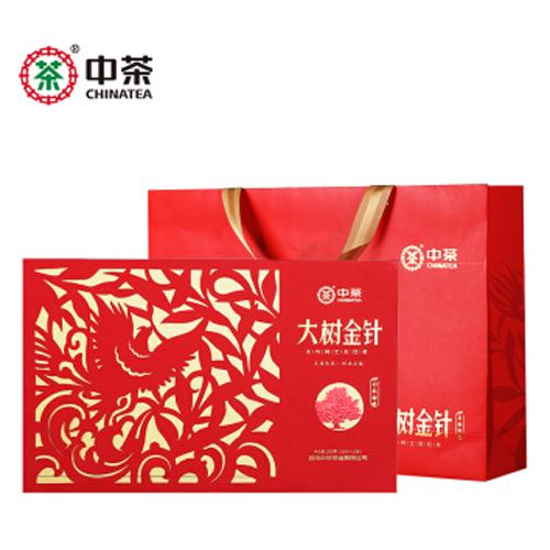 中茶红茶 滇红金针工夫红茶大树金针200g中秋礼盒 中粮茶叶