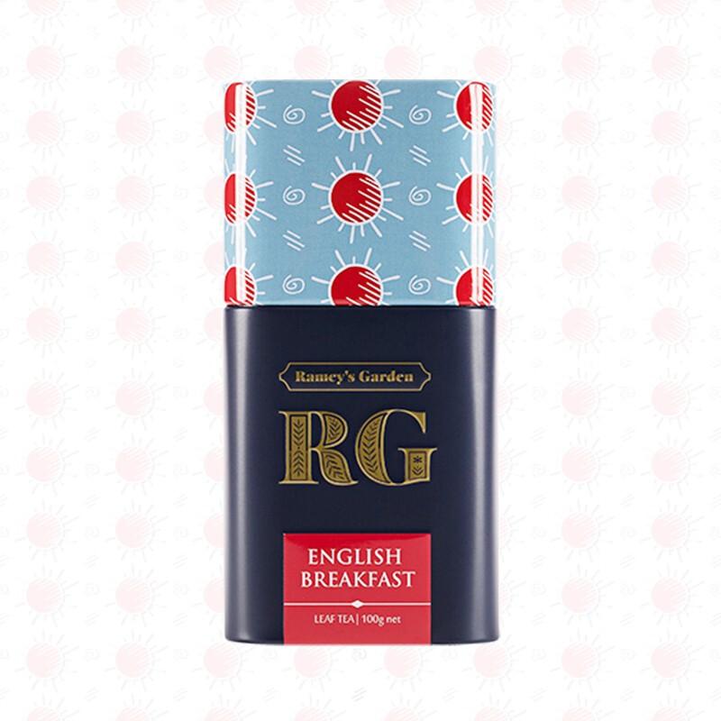 RG蕾米花园(Ramey's Garden)斯里兰卡锡兰红茶 进口茶叶 英式下午茶原味红茶罐装 100g