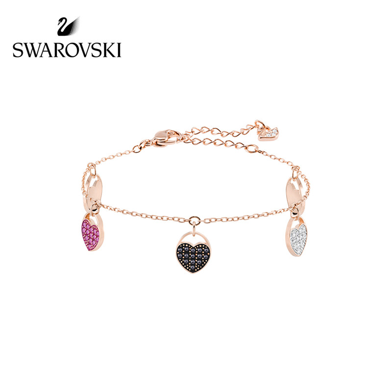 SWAROVSKI/施华洛世奇创意心形手链(玫瑰金)5472444