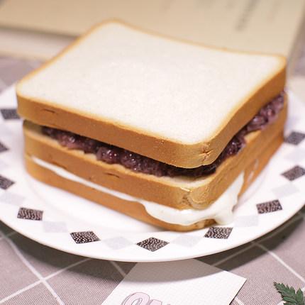 卖麦香紫米面包黑米加薪奶酪吐司蛋糕营养早餐糕点心零食三明治1100g
