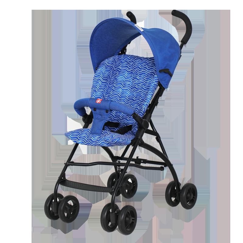 gb好孩子婴儿推车轻便避震宝宝便携出行遛娃手推车D308