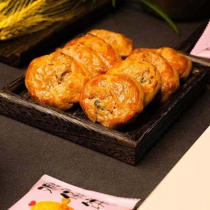 金盼鸡仔饼原味腐乳饼干手工老式小吃传统糕点下午茶点心休闲零食225g*2