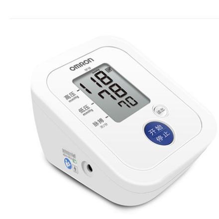 欧姆龙电子血压计TF18上臂式家用智能全自动测量仪