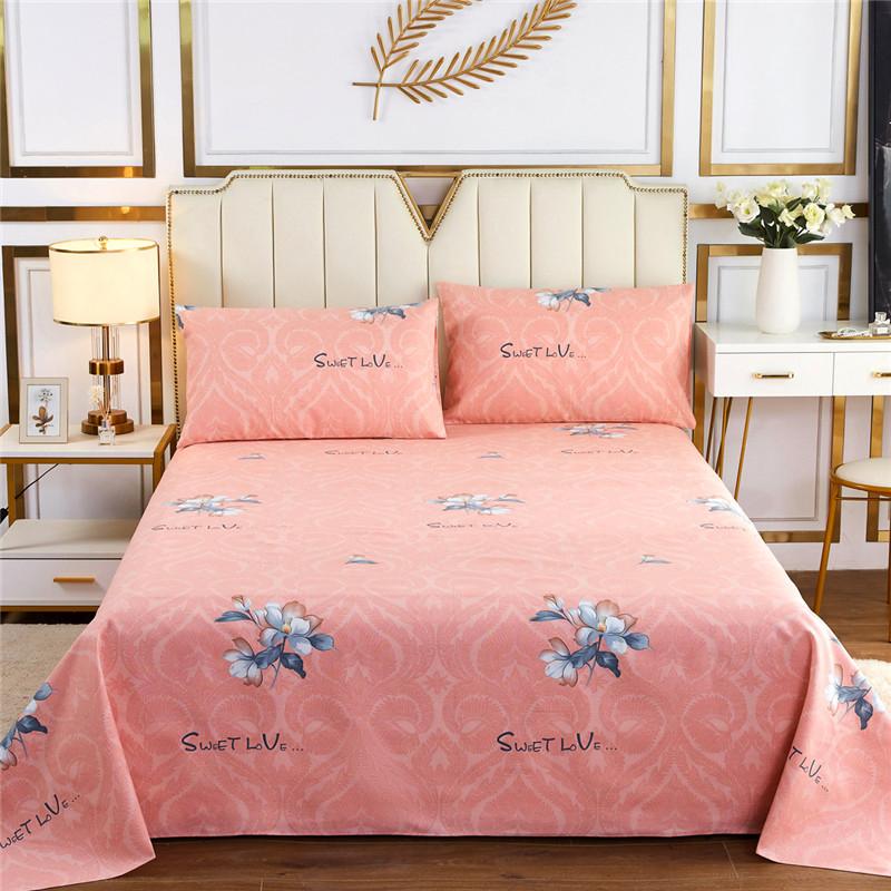 老粗布凉席3件套  高低床单双人床单可水洗空调凉席可机洗夏天冰丝软席子 米诺 1.8/2米床三件套粗布尺寸2.3*2.5米