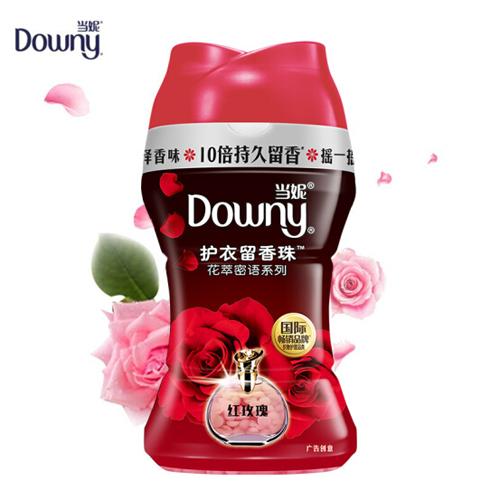 当妮 Downy 杨幂同款 护衣留香珠 洗衣香水(红玫瑰香)150G/瓶 持久留香