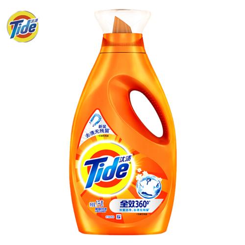 汰渍 Tide 洁净除菌洗衣液(洁雅百合香)1KG/瓶 去渍无残留