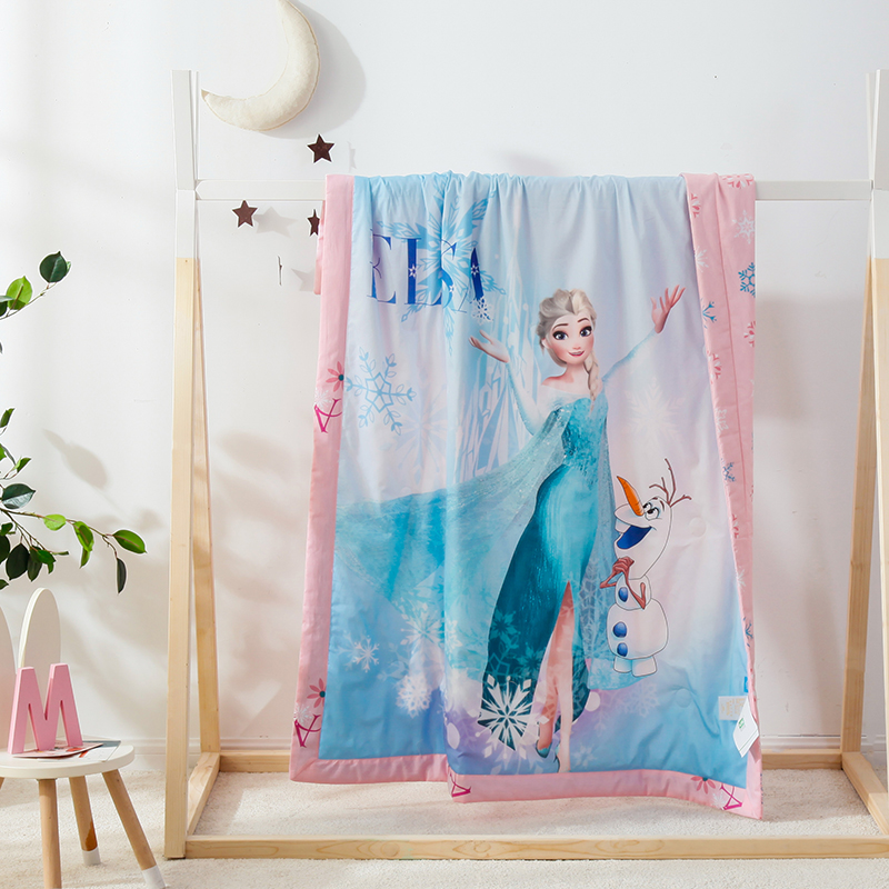 爱莎女王-蓝3D数码艾草驱蚊夏被150cm*200cm