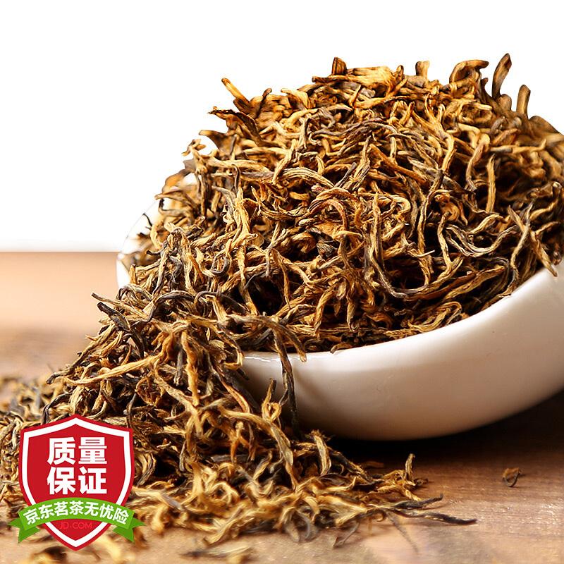 润虎 金骏眉红茶茶叶蜜香型500g(250g*2罐)香气口感升级茶叶礼盒装罐装红茶正山小种伴手礼如是