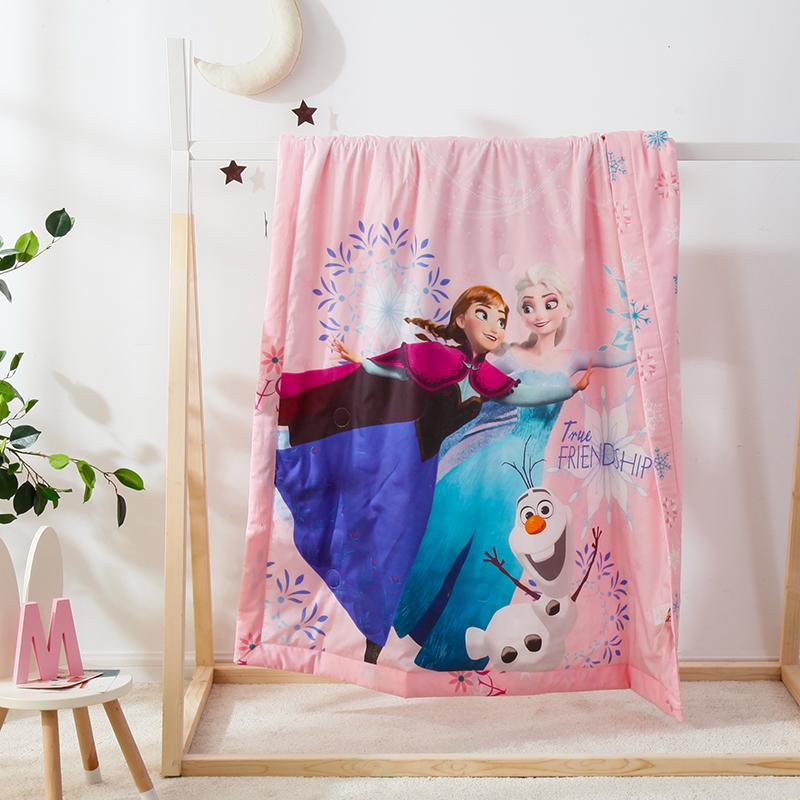 冰雪姐妹-粉3D数码艾草驱蚊夏被150cm*200cm
