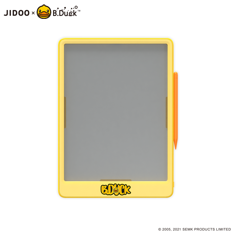 B.DUCK12寸儿童液晶透明手写板宝描J120BD-T