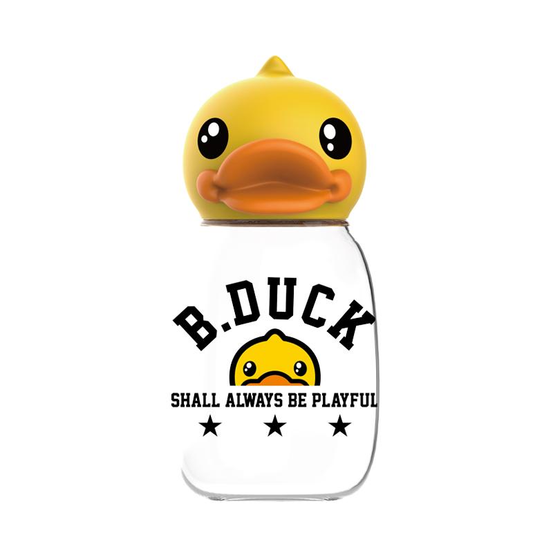 FACE×B.Duck酷乐迷你鸭头Tritan水杯 BD-P1新款 黄色