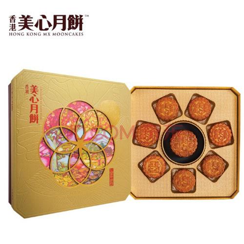 美心-1350g七星伴明月月饼礼盒  可做礼品券