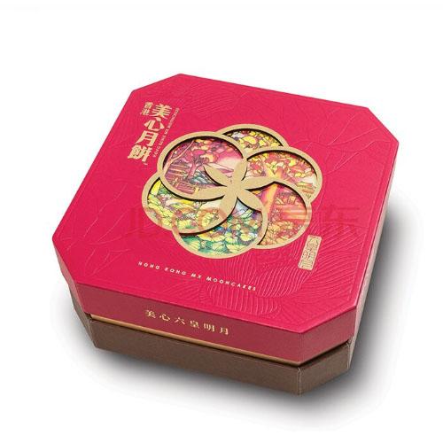 美心-430g六皇明月月饼礼盒  可做礼品券