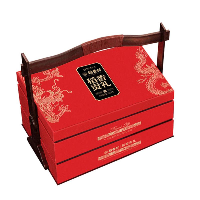 稻香村坚果礼盒春节年货礼盒零食大礼包团购福利企业定制 稻香贡礼1200g