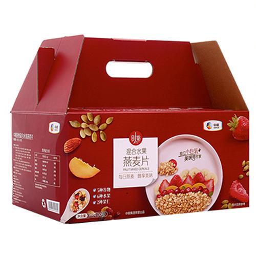 中粮麦片时怡混合水果燕麦片900g礼盒装即食燕麦营养早餐冲饮谷物