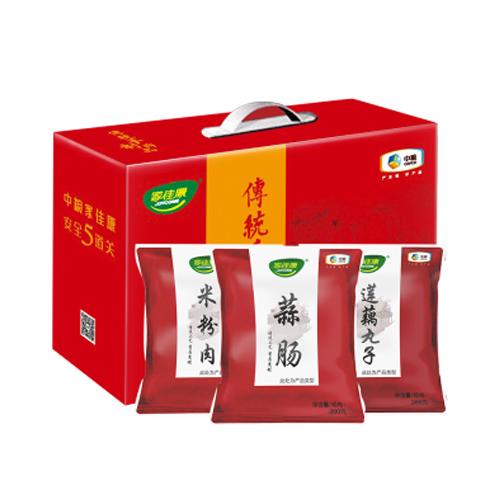中粮家佳康传统手制肉食礼盒A款1320g